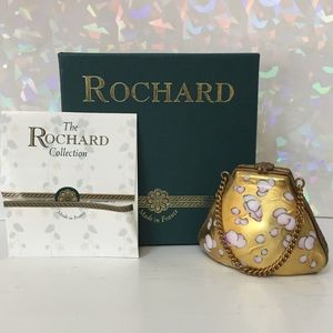 Limoges Rochard Purse Gold & Blue